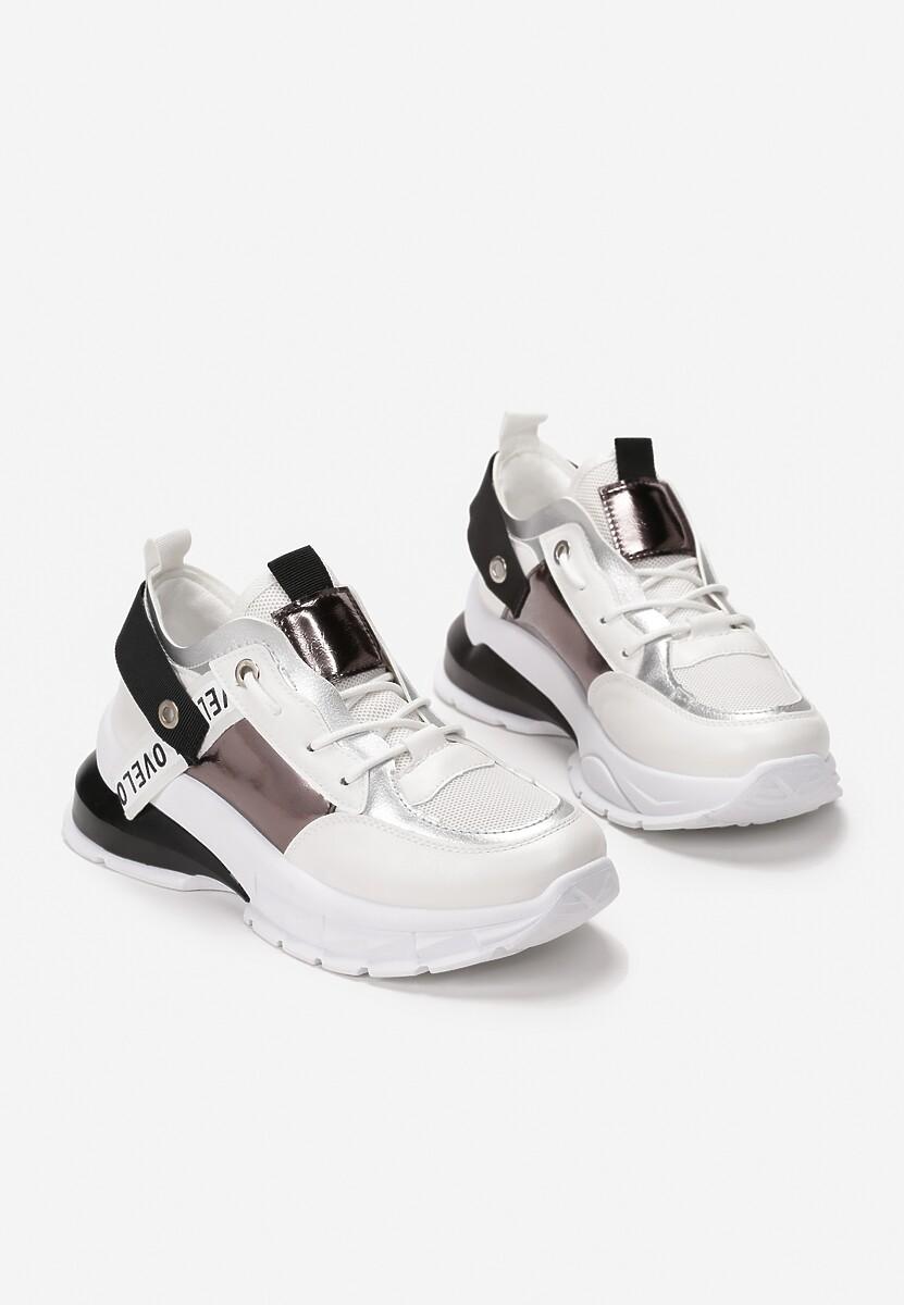 Czarne Sneakersy Brett
