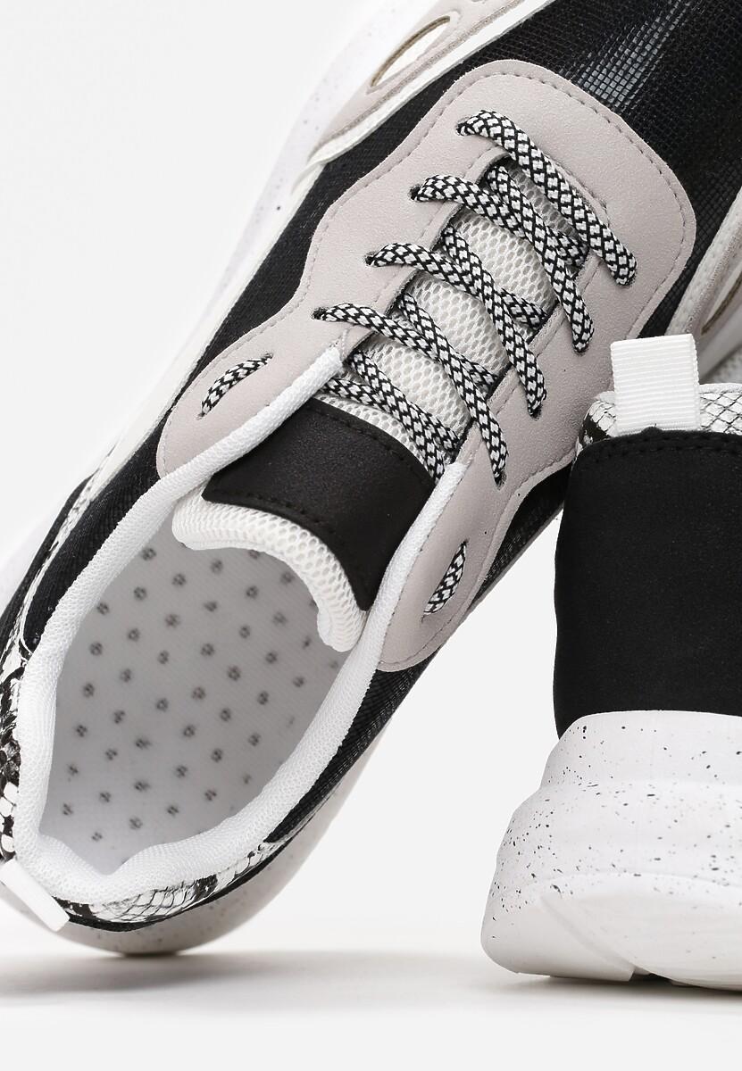 Czarne Sneakersy Briony