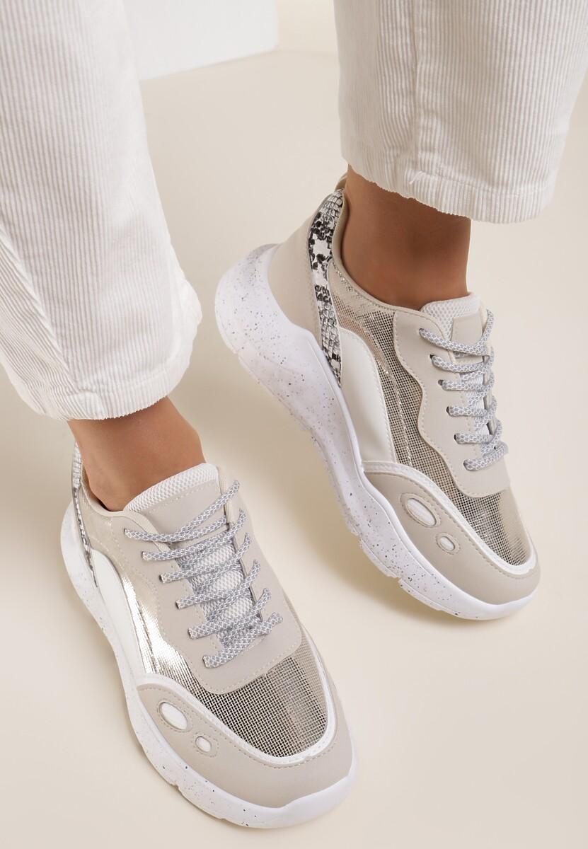 Złote Sneakersy Briony