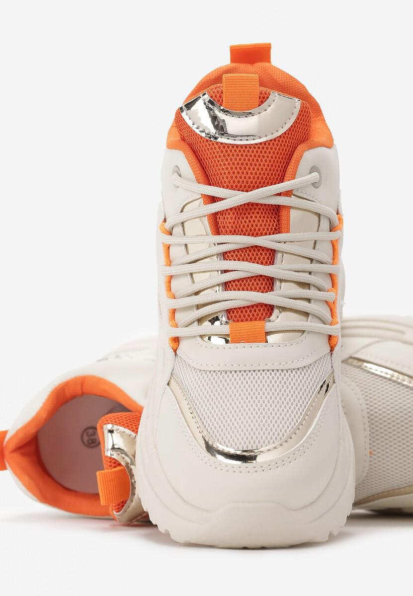 Beżowe Sneakersy Huffman