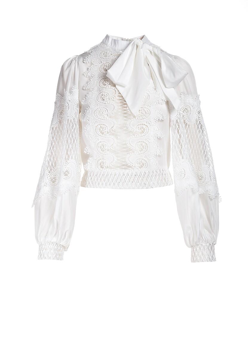 Biała Bluzka Rea