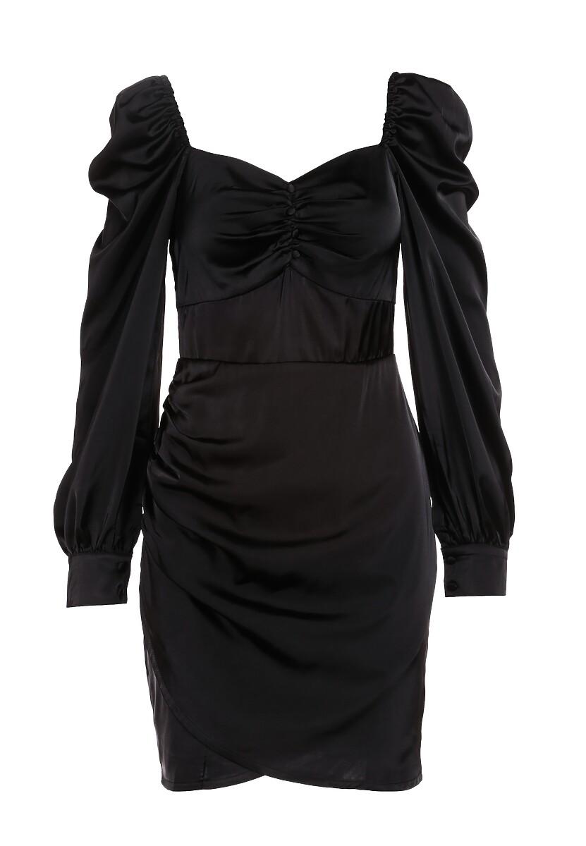 Czarna Sukienka Burnett