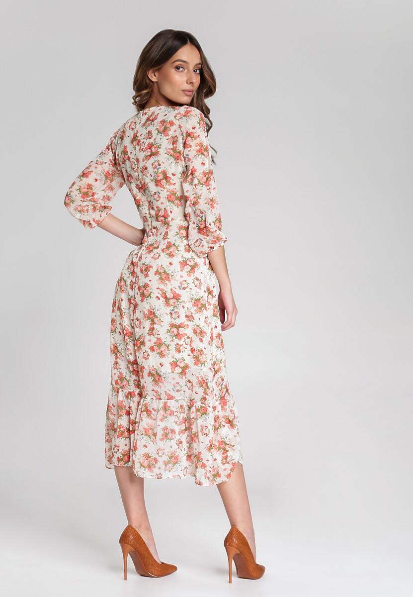 Kremowa Sukienka Abbott