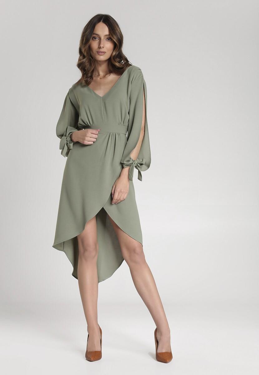 Zielona Sukienka Cecilla