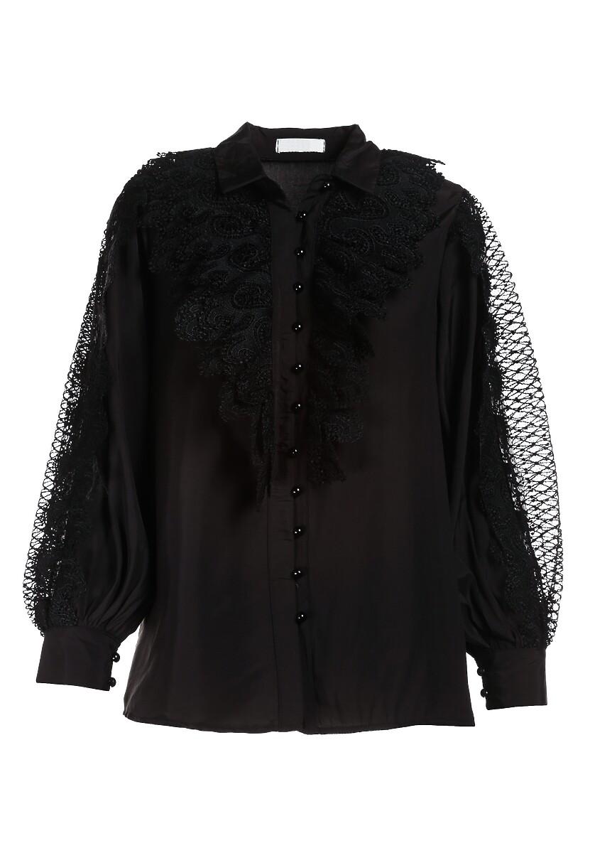 Czarna Koszula Ellouise