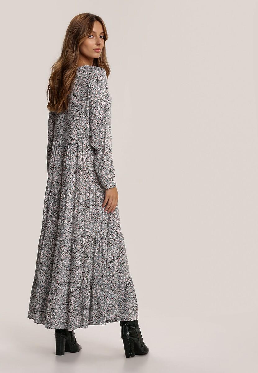 Miętowa Sukienka Winterborne