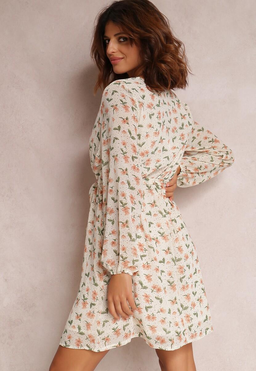 Kremowa Sukienka Jaramillo