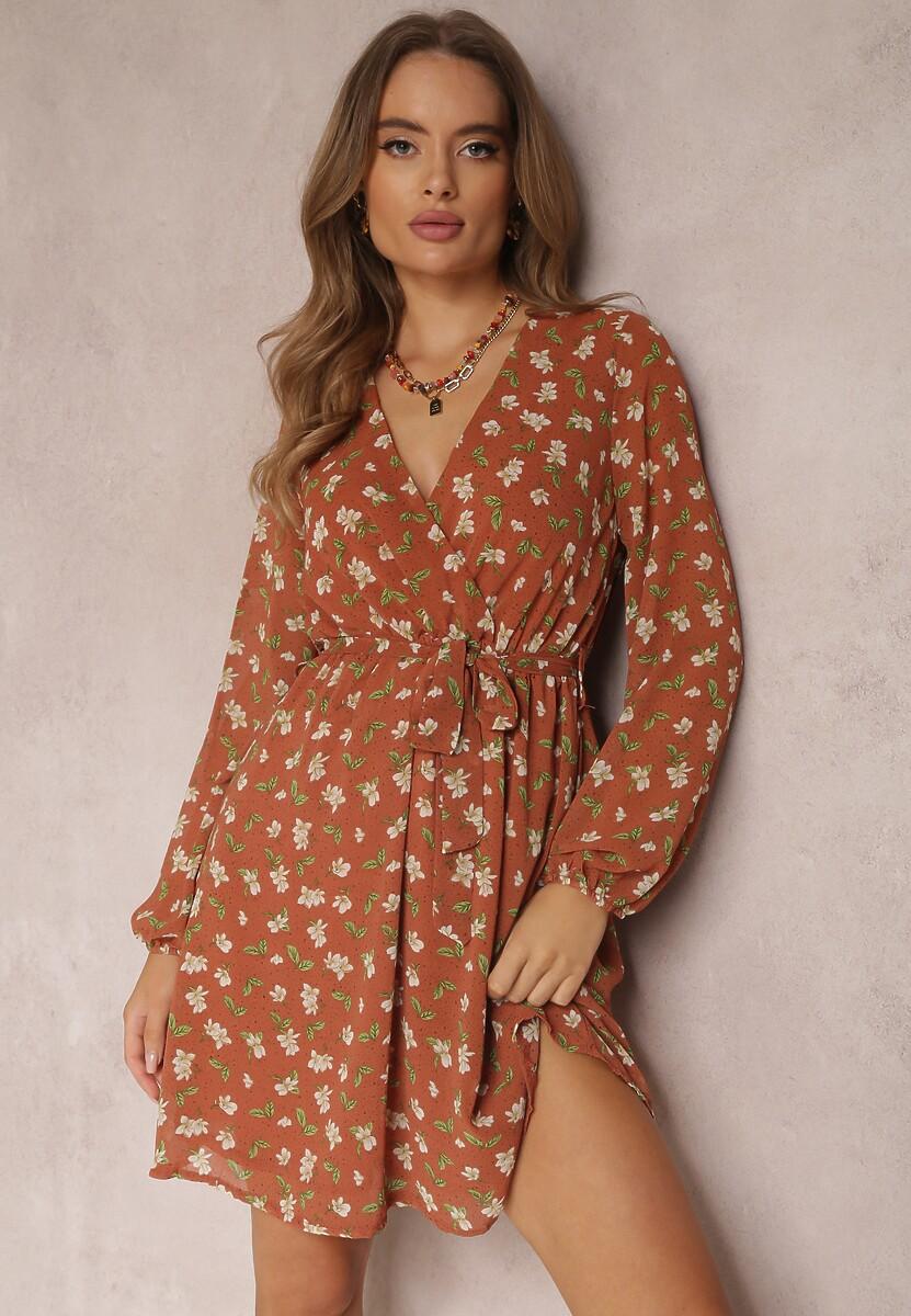 Brązowa Sukienka Jaramillo Kod produktu: 112352