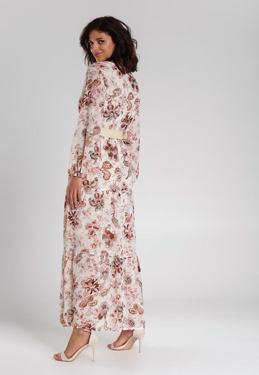 Biała Sukienka Alishia