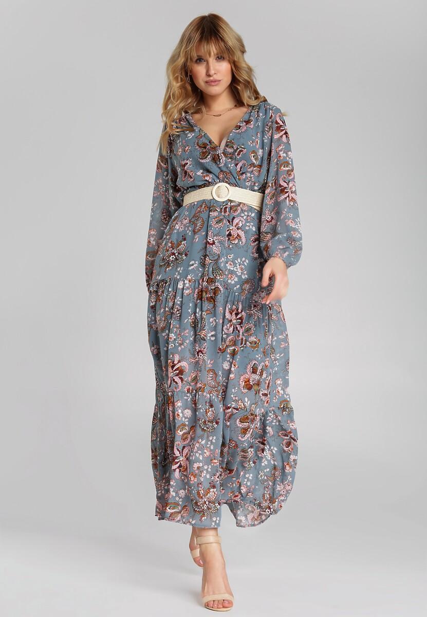 Niebieska Sukienka Alishia