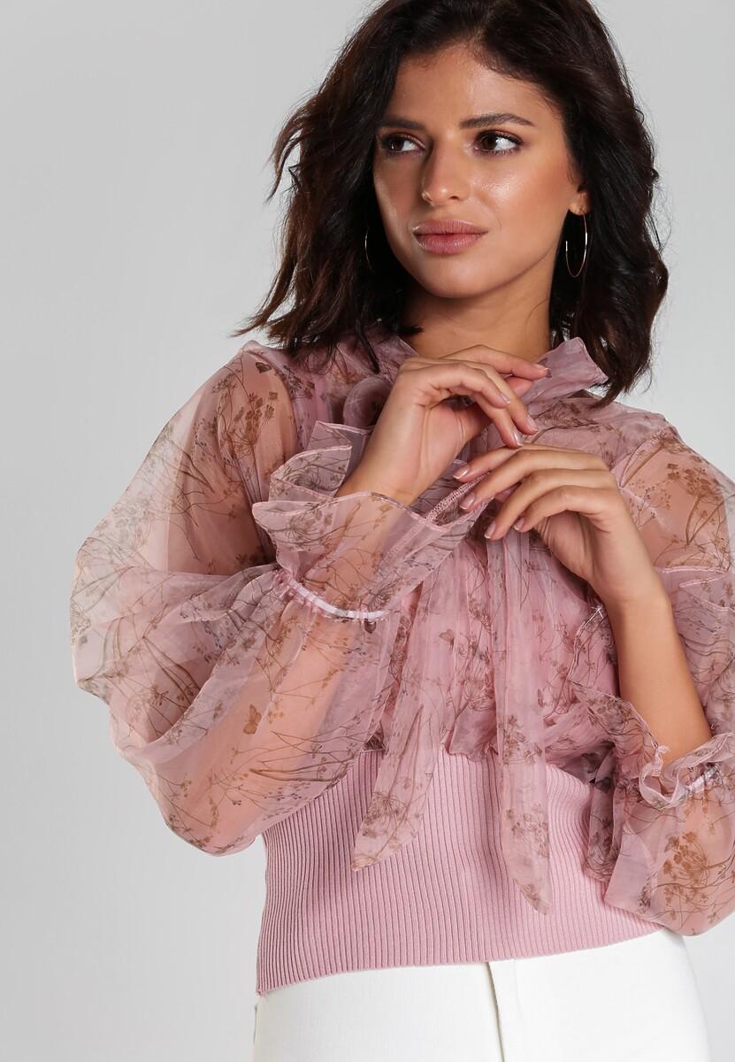 Różowa Bluzka Rhona