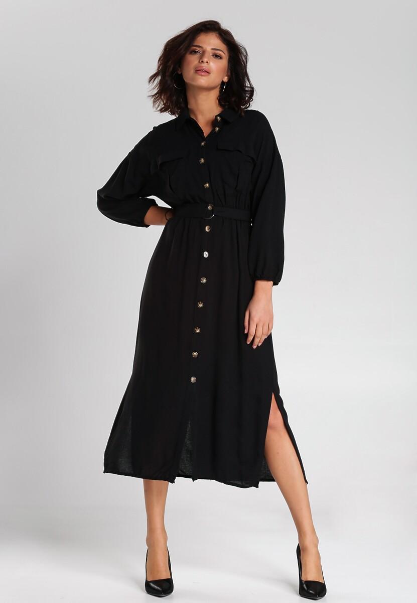 Czarna Sukienka Curran Kod produktu: 112337