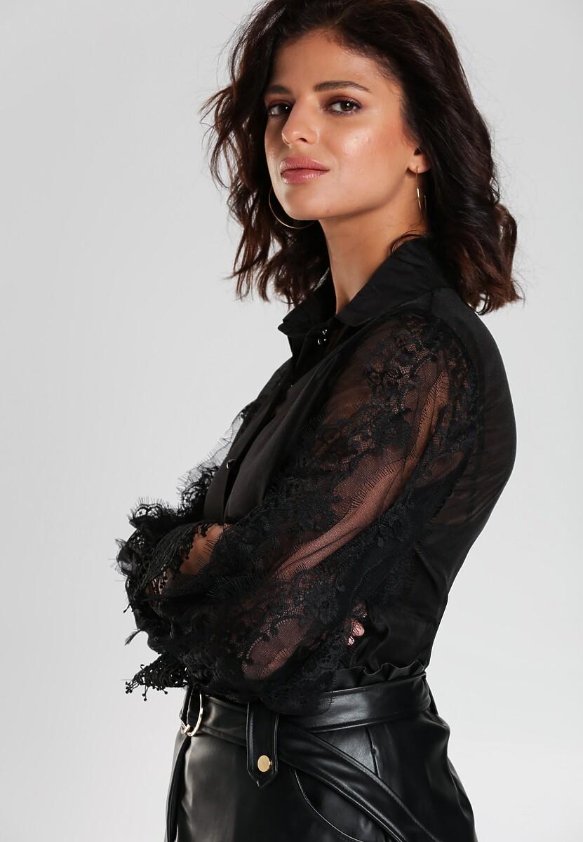 Czarna Koszula Kaden