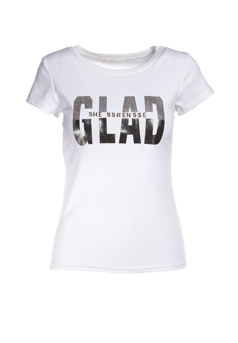 Biały T-shirt Griffiths