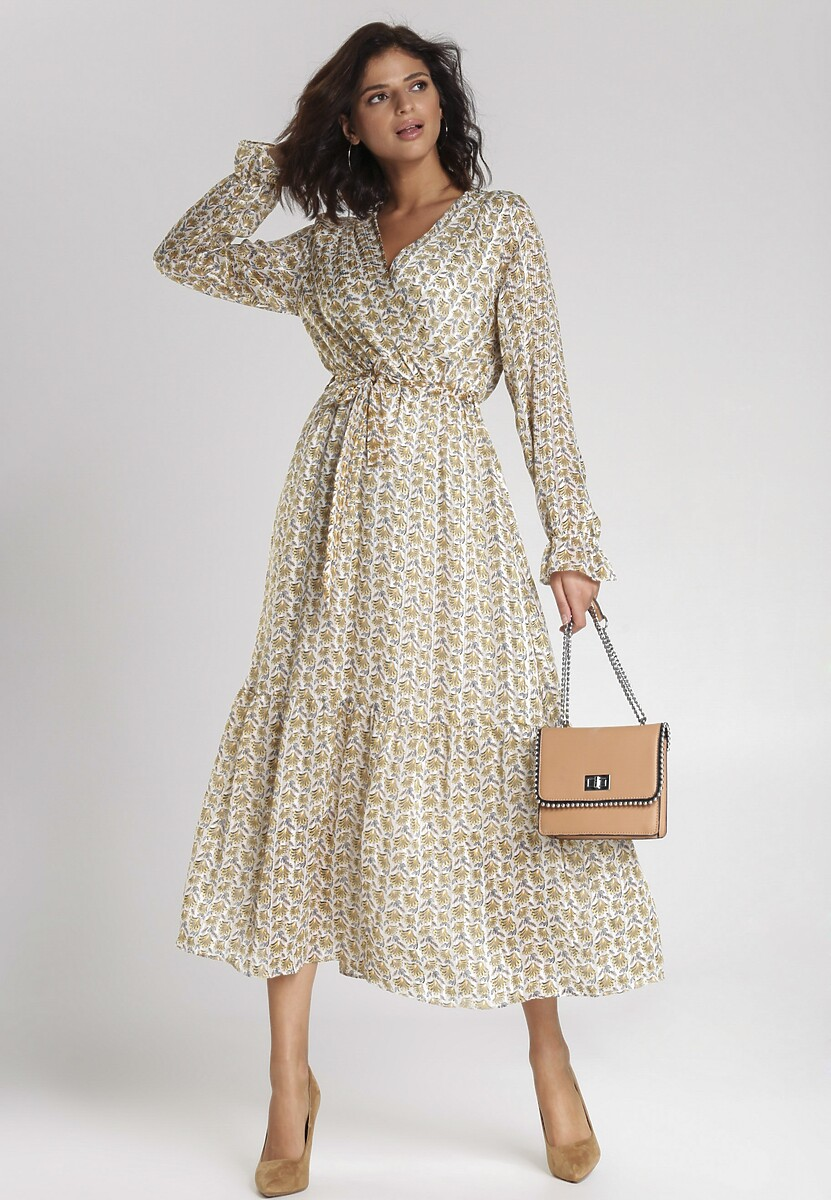 Biała Sukienka Kirstin