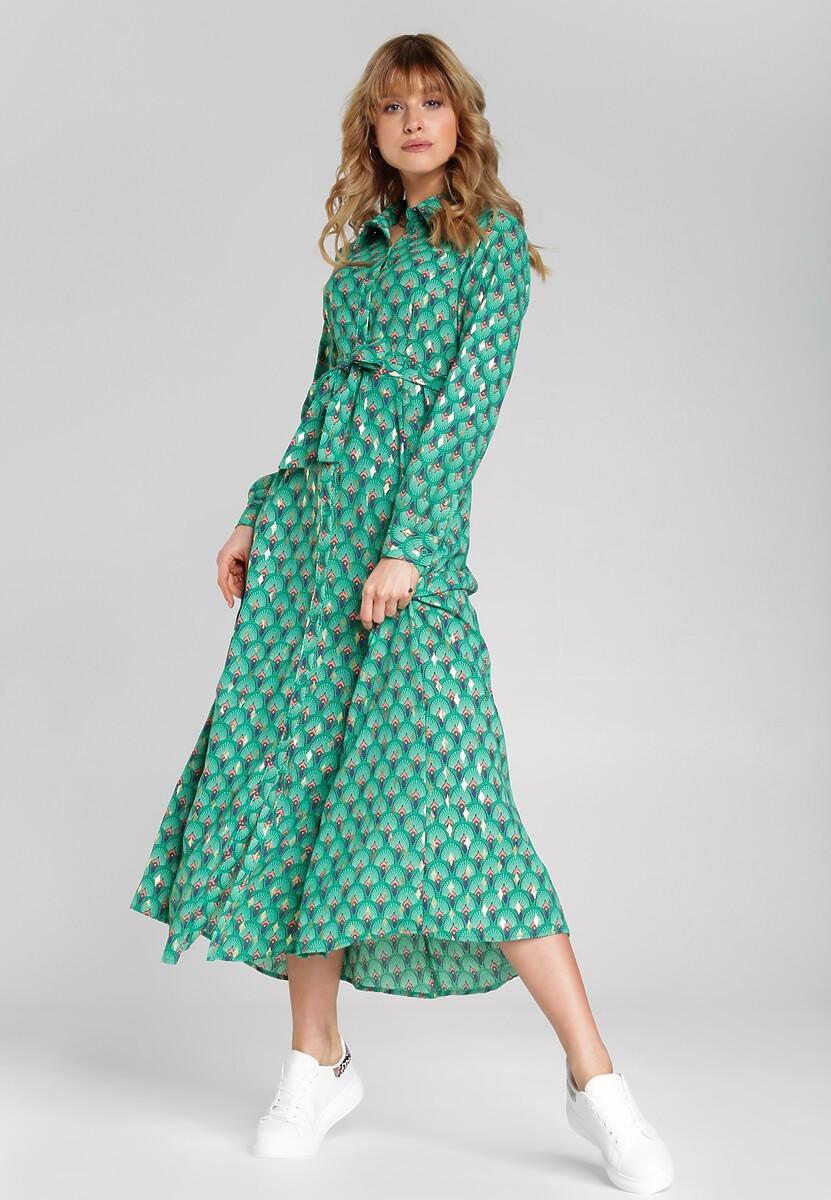Zielona Sukienka Mallorca