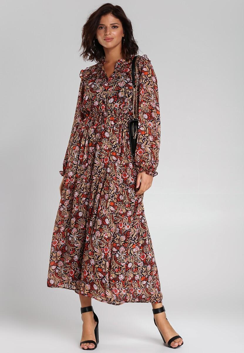Czarna Sukienka Aanya