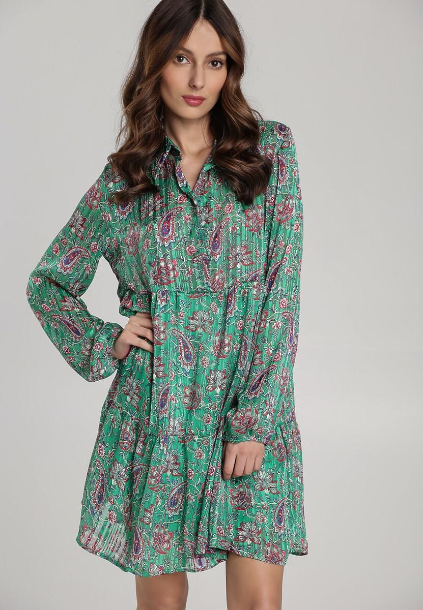 Zielona Sukienka Taslima