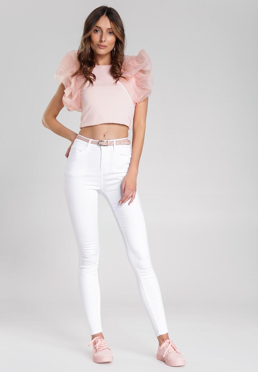 Białe Spodnie My Wild Thoughts
