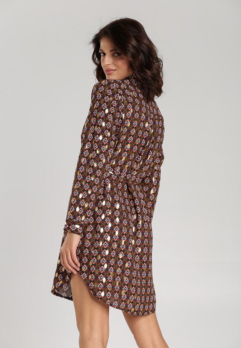 Granatowa Sukienka Salomise