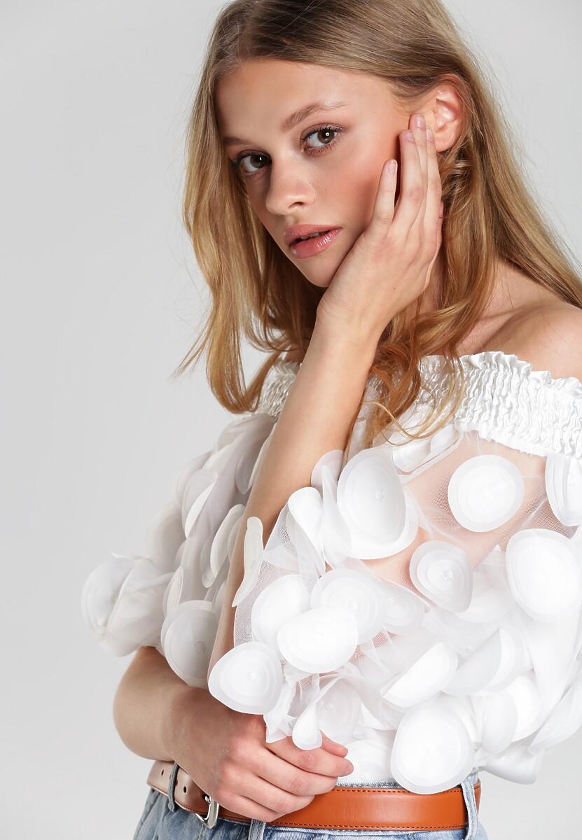 Biała Bluzka Makena