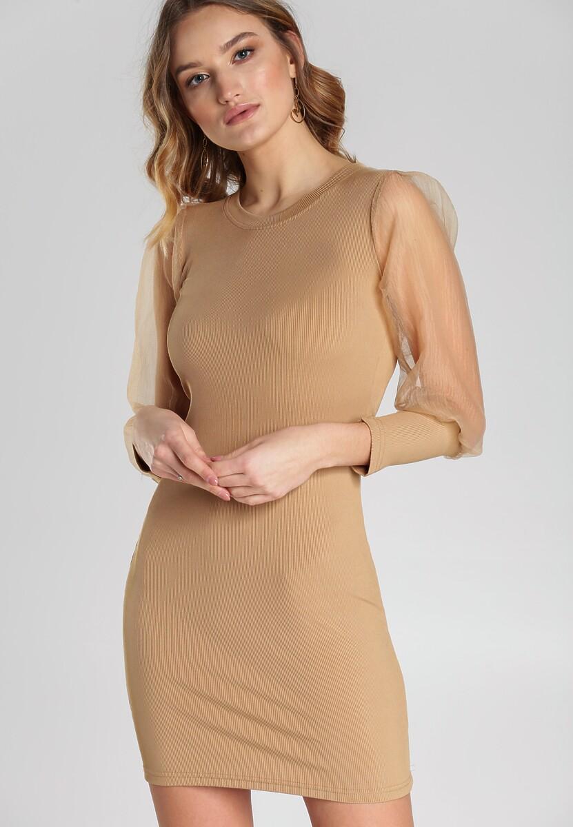 Beżowa Sukienka Mireya Kod produktu: 112744