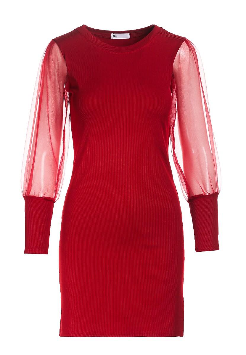 Czerwona Sukienka Mireya