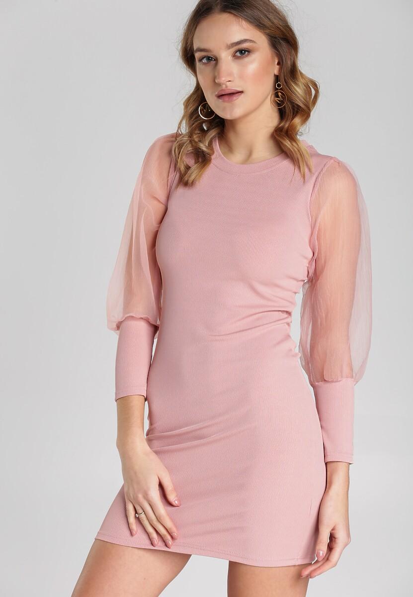 Jasnoróżowa Sukienka Mireya