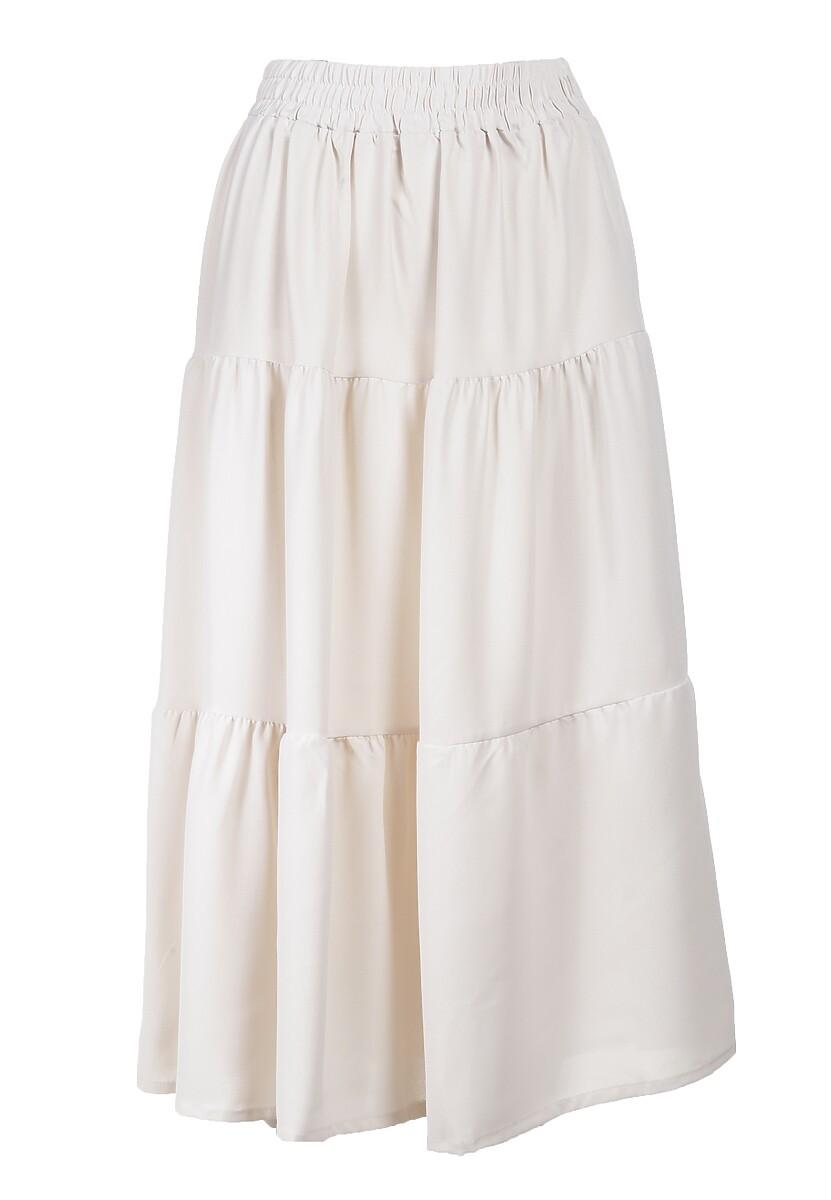 Kremowa Spódnica Midori