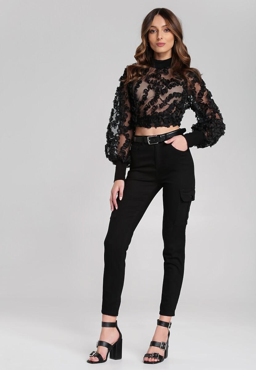 Czarne Spodnie Weylyn