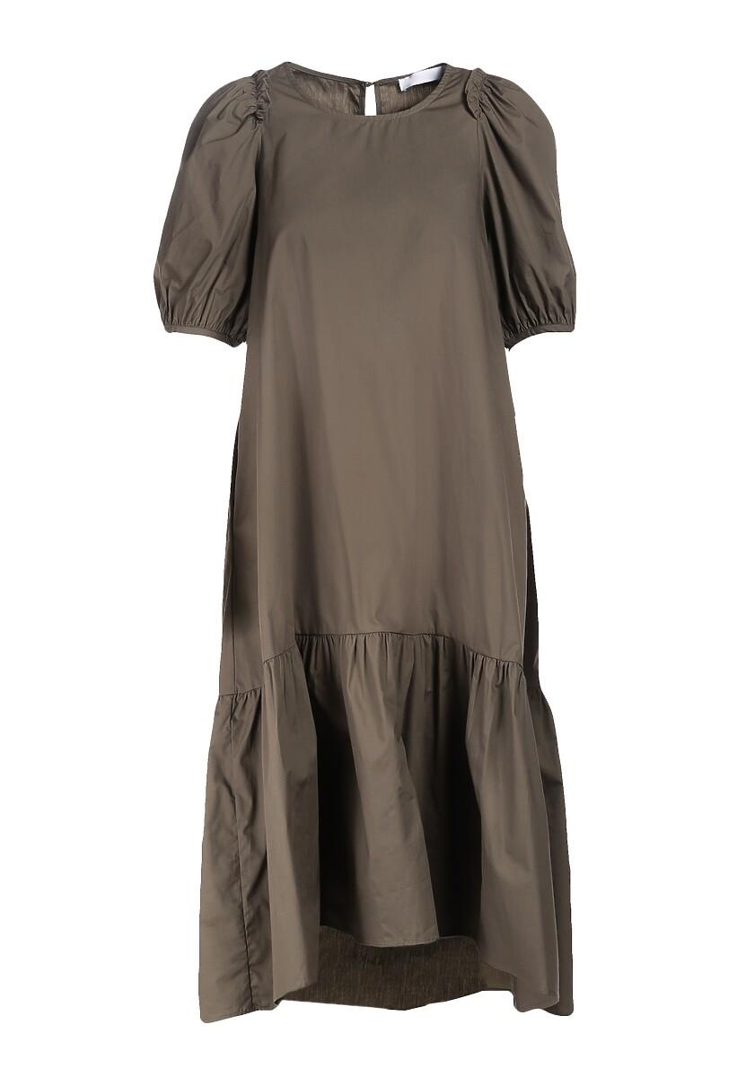 Ciemnozielona Sukienka Rigby