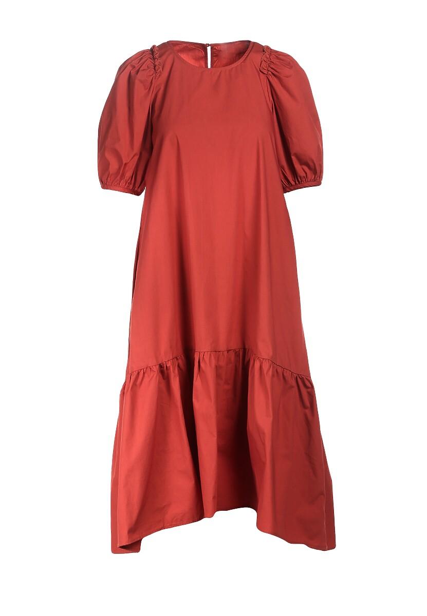 Koralowa Sukienka Rigby
