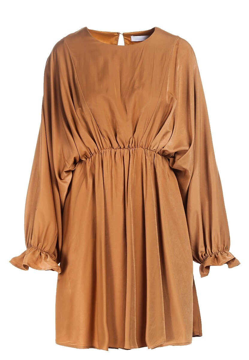 Camelowa Sukienka Solveig