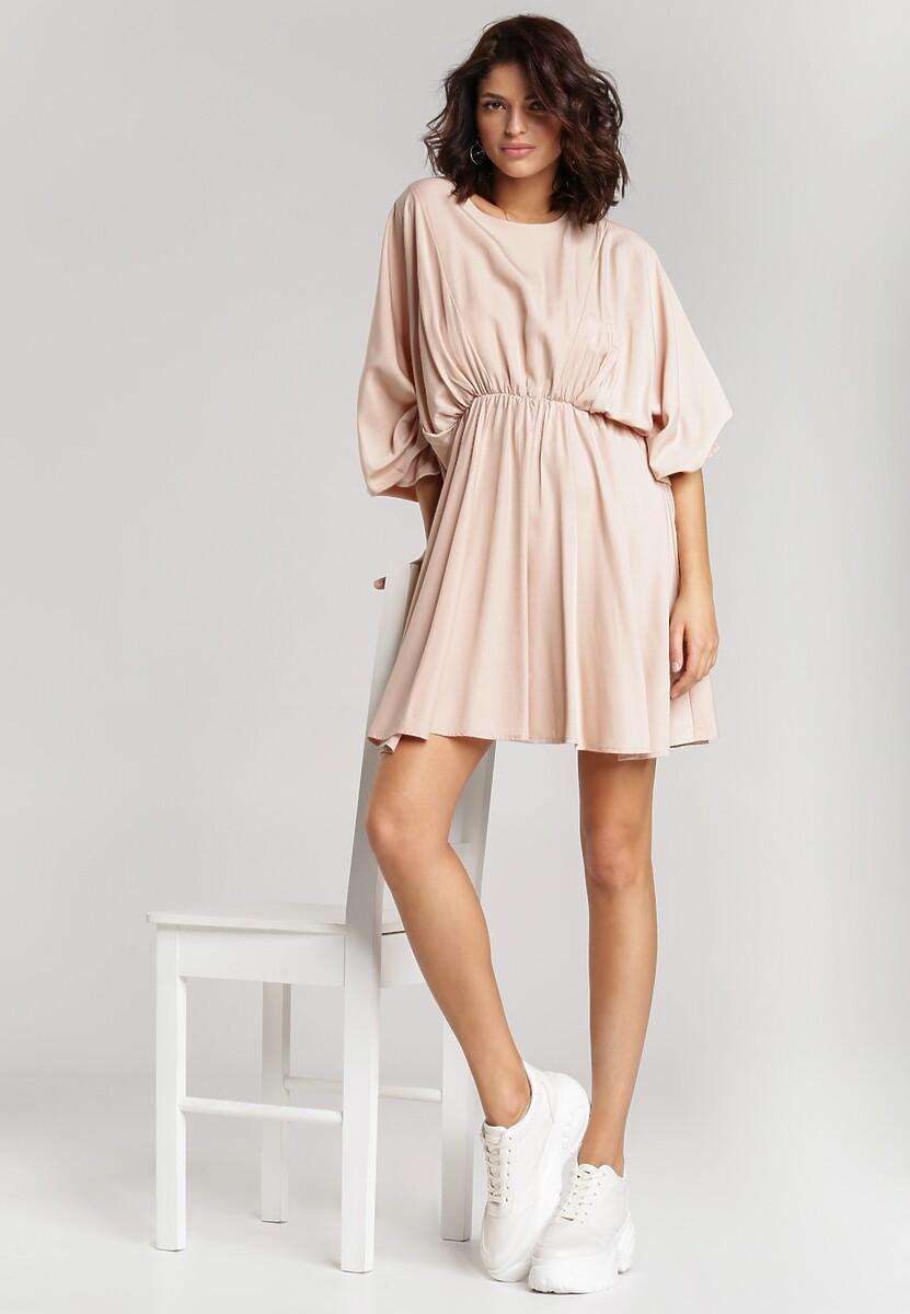 Jasnoróżowa Sukienka Solveig