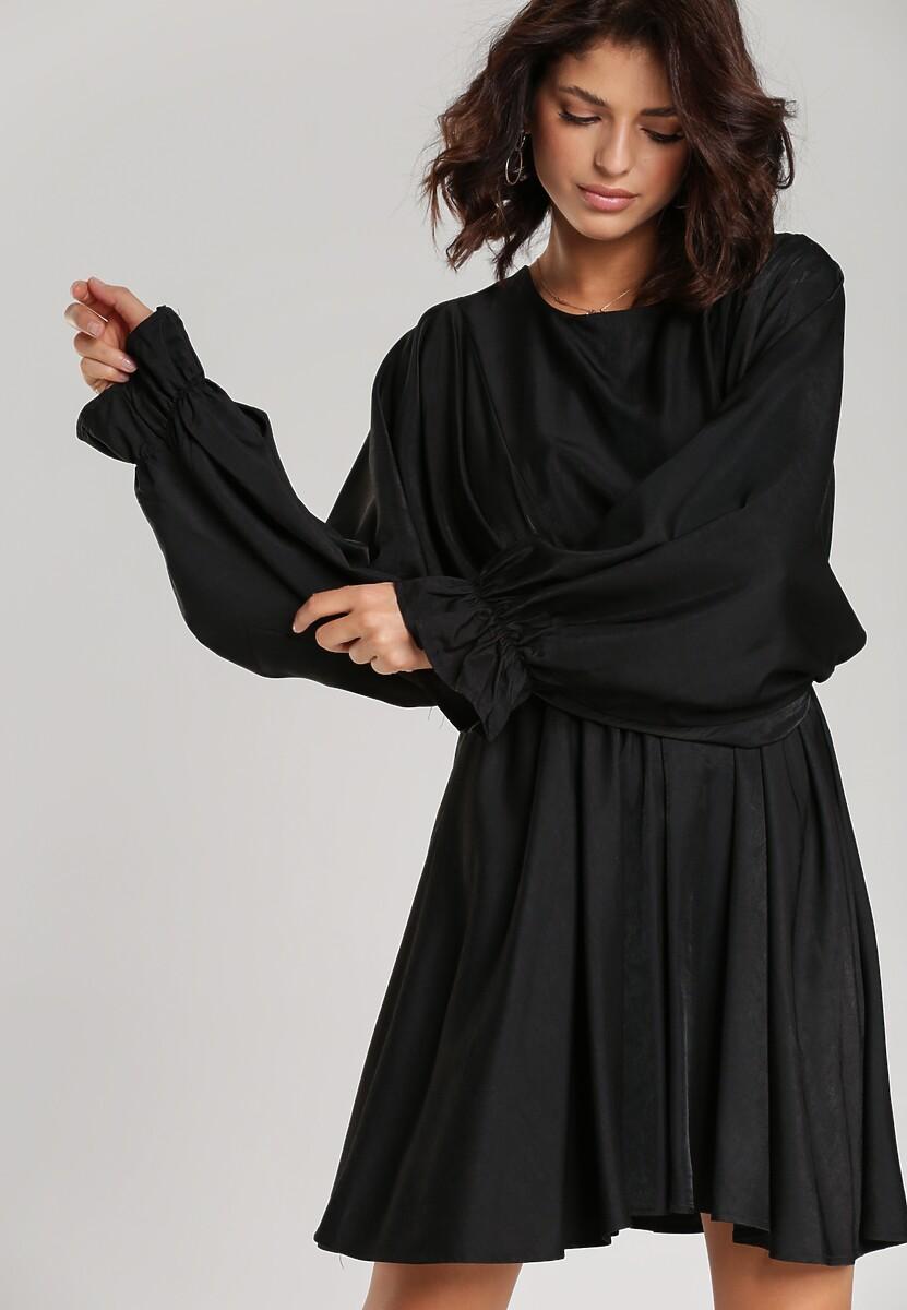 Czarna Sukienka Solveig