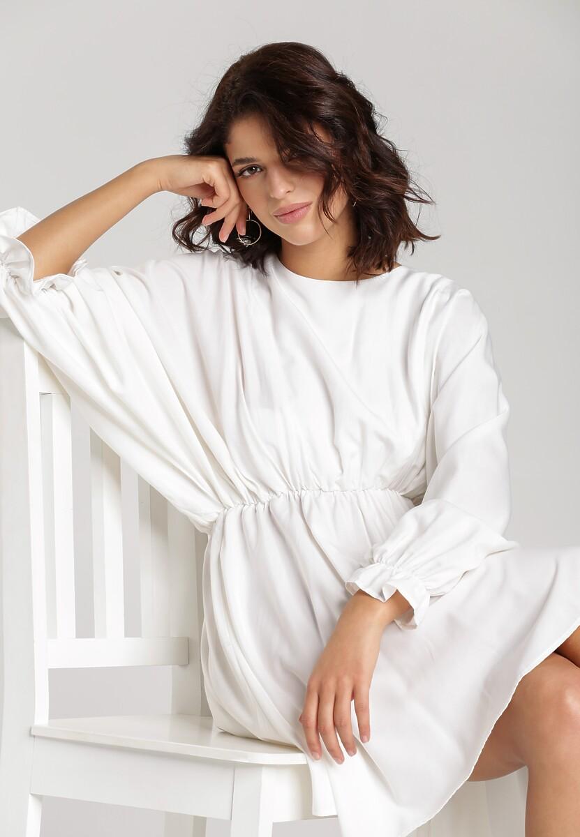 Biała Sukienka Solveig