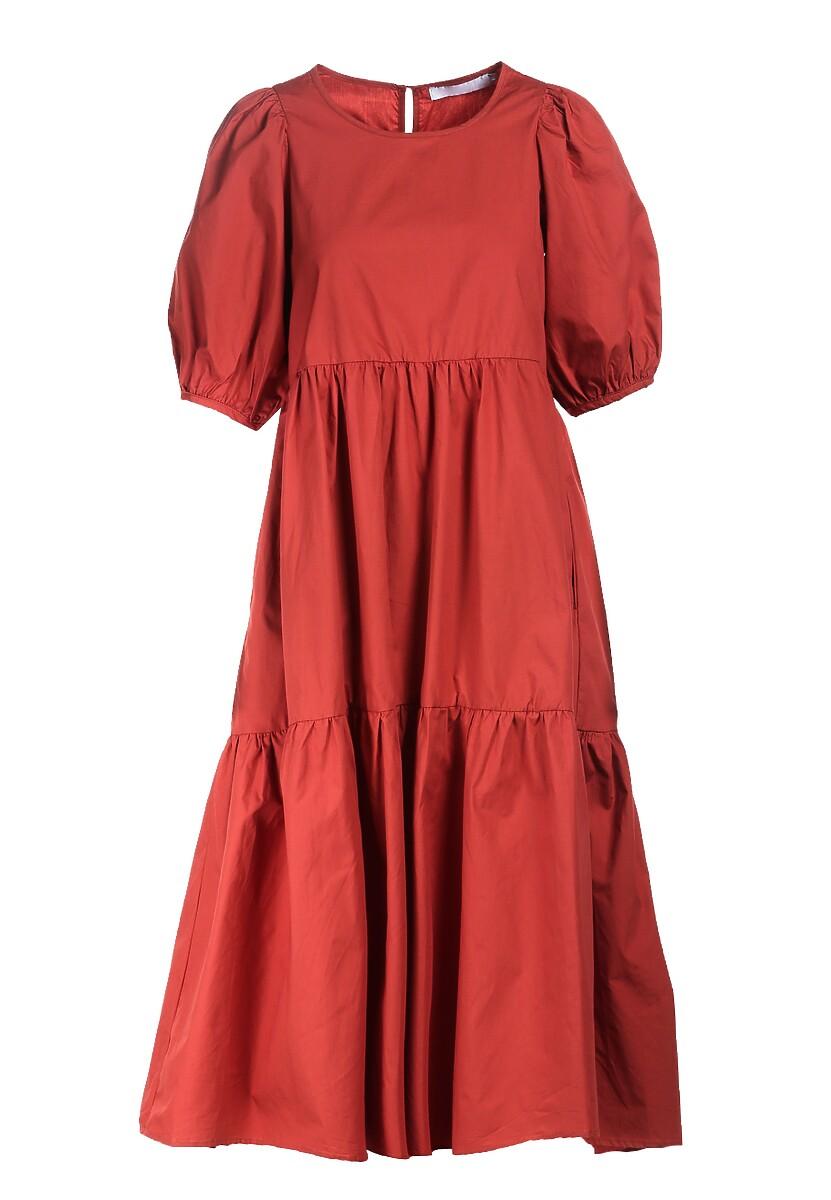 Łososiowa Sukienka Sonoma