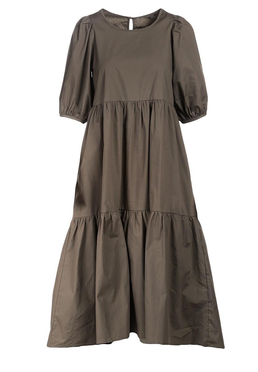 Ciemnozielona Sukienka Sonoma