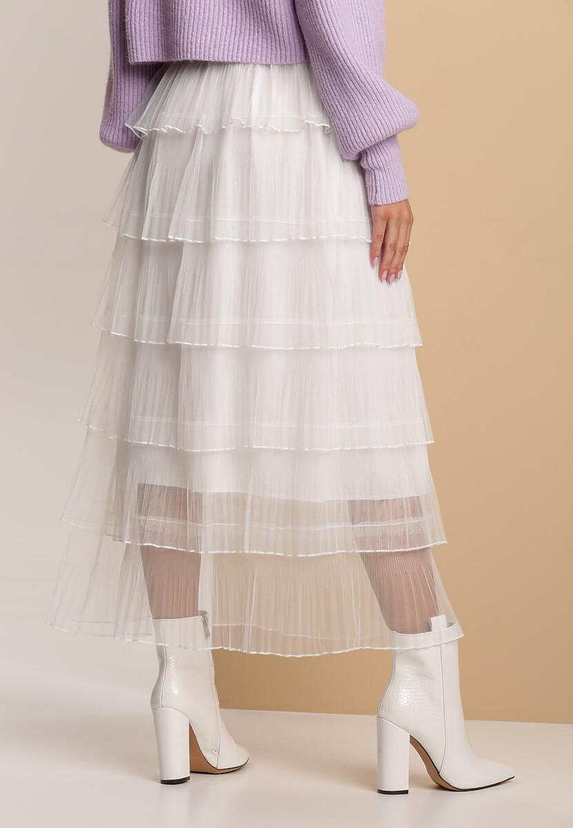 Biała Spódnica Thara