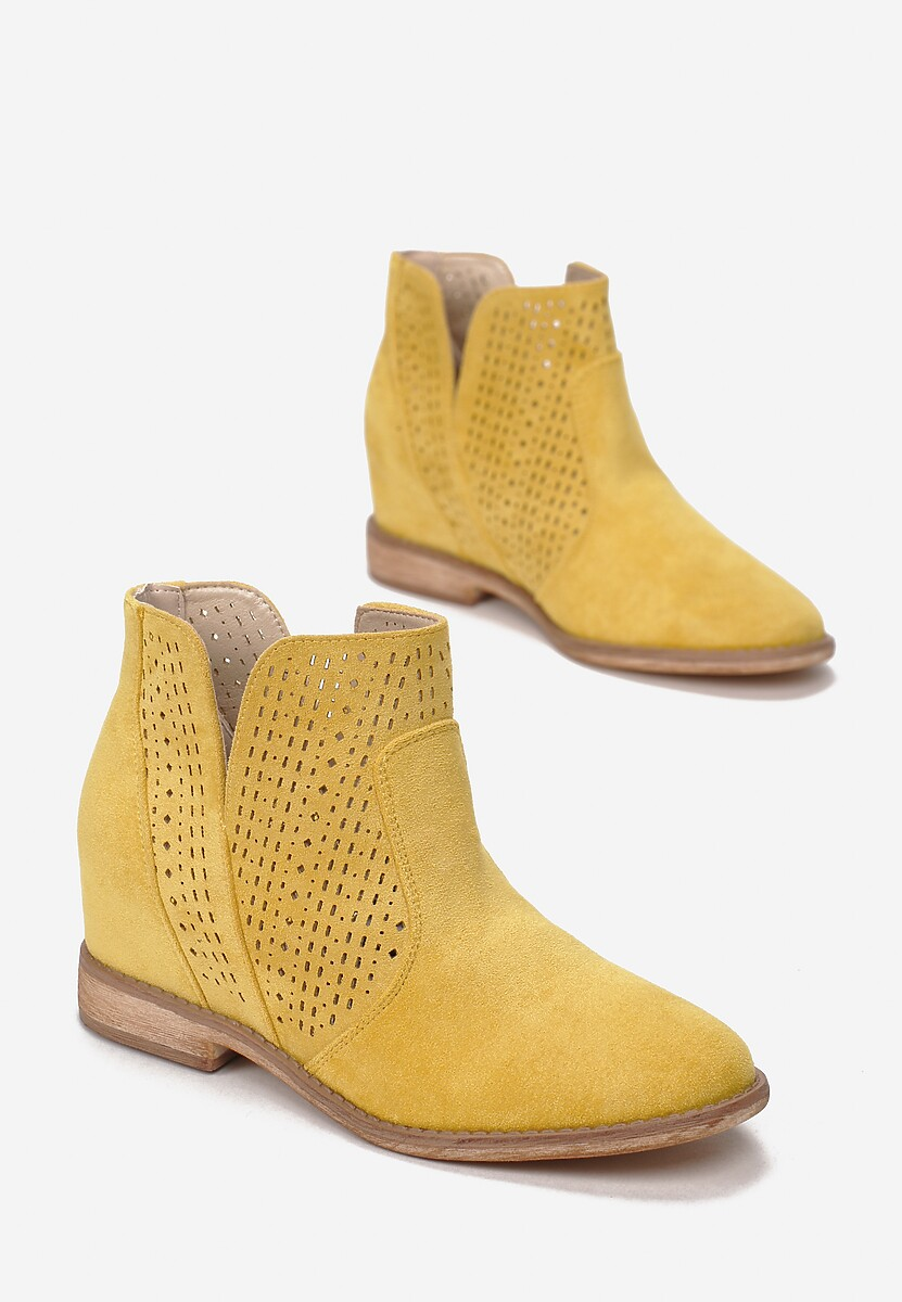 Żółte Botki Bronte