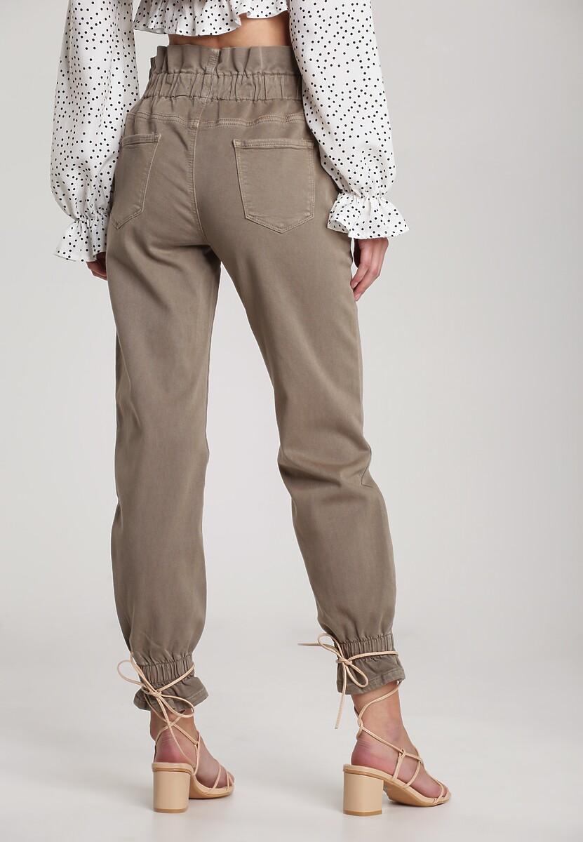 Khaki Spodnie Clementina
