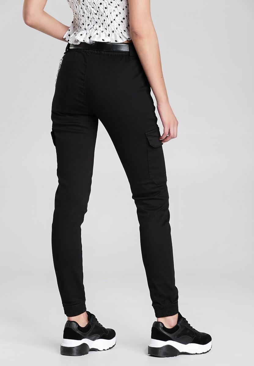 Czarne Spodnie Angelia