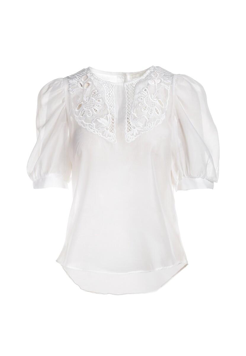 Biała Bluzka Hoffman