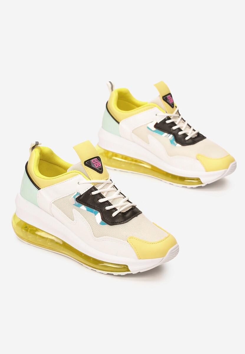 Żółte Sneakersy Batellia
