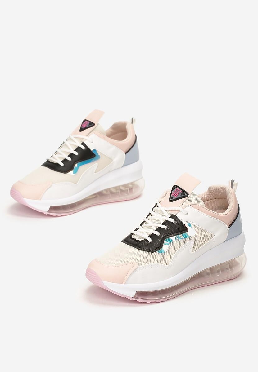Różowe Sneakersy Batellia
