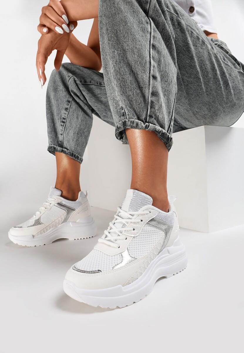 Białe Sneakersy Klyphotise