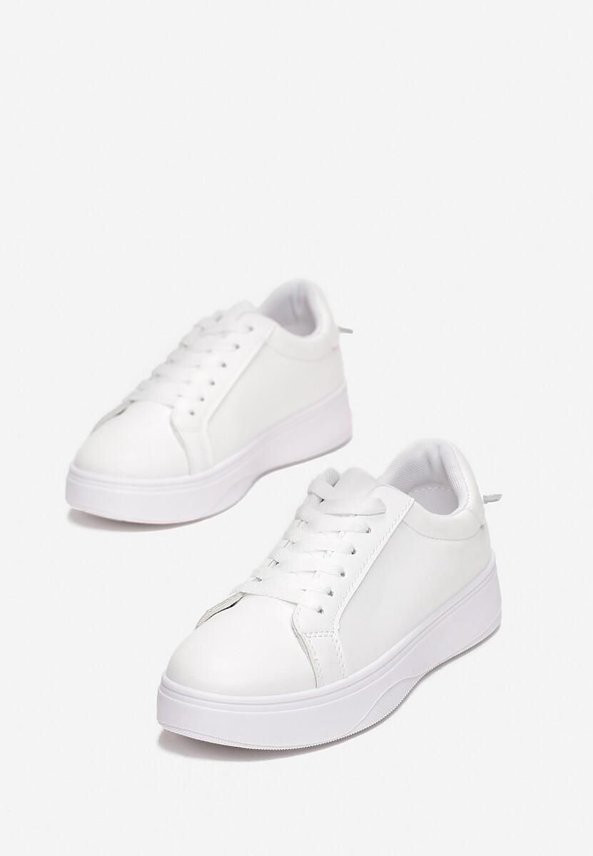 Białe Sneakersy Heliteia
