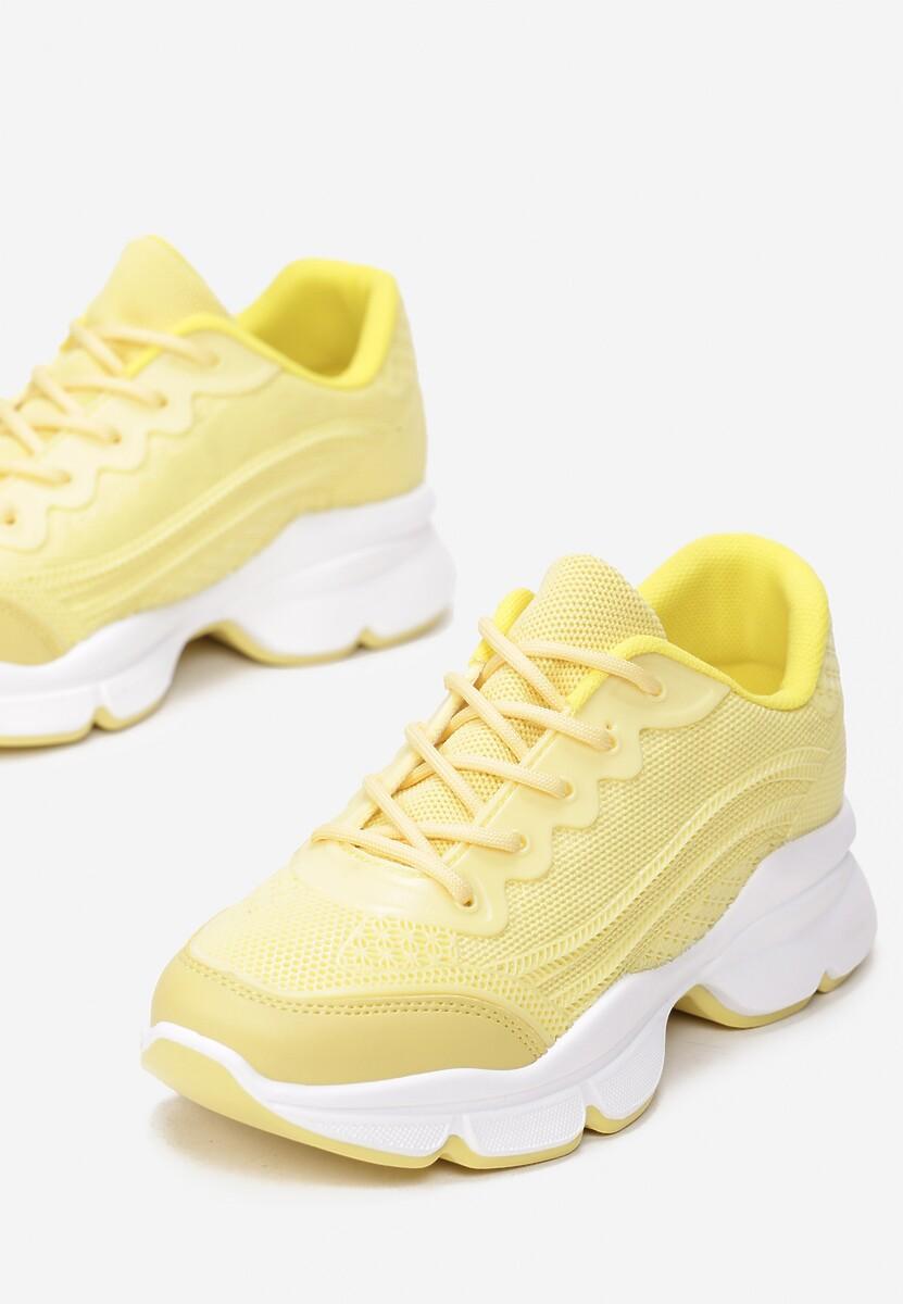 Żółte Sneakersy Eidothea