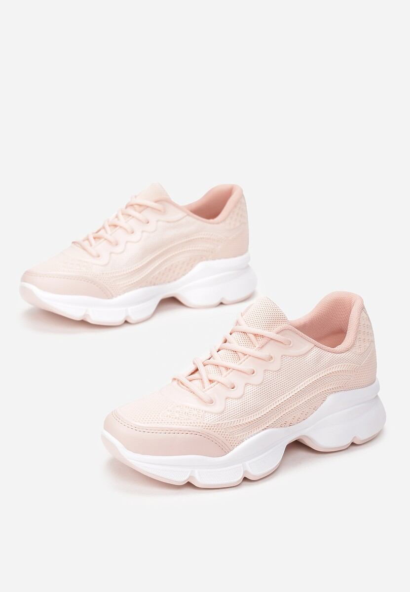 Różowe Sneakersy Eidothea