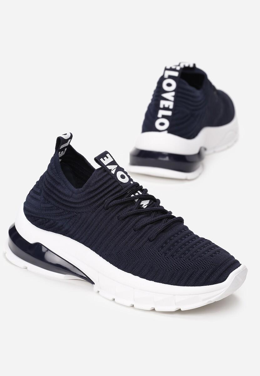 Granatowe Sneakersy Oinone